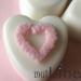 Vestuvių muiliukai širdelės