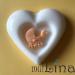 Krikštynų muiliukai širdelės 2