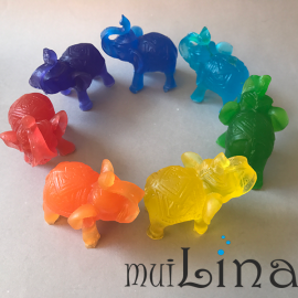 7 drambliukai